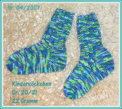 Kindersocken Gr. 20/21